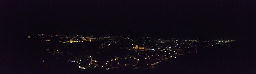 Granada desde el barrio Cerro del San Miguel